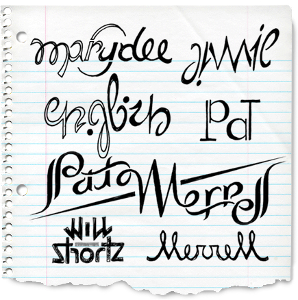 If you want to make your own ambigram, here's a clever site that'll generate