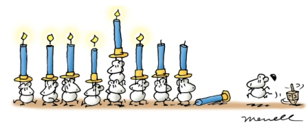 mousemenorah